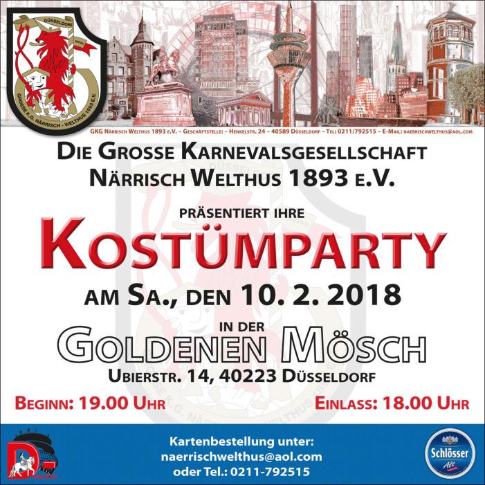 Events :: Jeck in Duesseldorf - Karneval