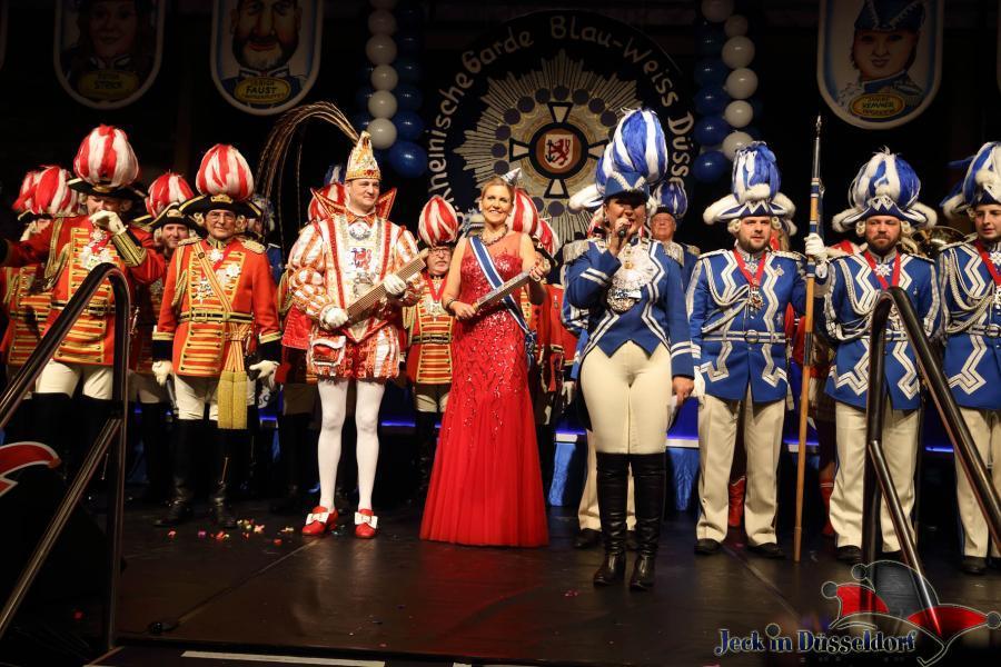 Prunksitzung der Rheinischen Garde Blau-Weiss (24.1.2015)
