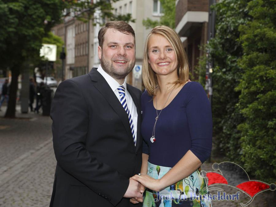 Hanno und Sara - das ist Düsseldorfs neues Prinzenpaar