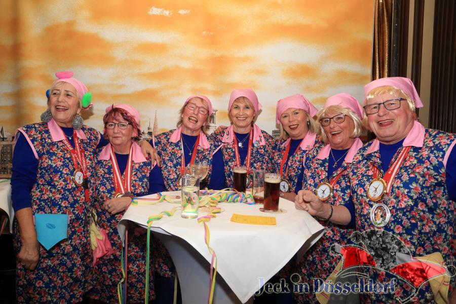 Damensitzung der Düsseldorfer Radschläger (31.1.2018)